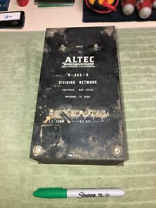ALTEC N-800-D ~ Hollywood ~ speaker divider crossover  western electric theater