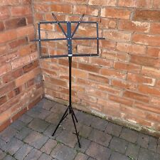 Black Metal Folding Music Stand