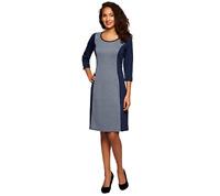 Liz Claiborne New York Petite Herringbone Knit Dress Size M MERLOT COMBO Color