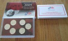 2009 U.S. Mint Silver Quarter Proof Set  with Box & COA 6 State Silver Quarters