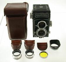 ROLLEICORD Vb 6x6 TLR Rollei Rolleiflex classic analog mechanic big SET gross !!