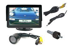 """Installazione telecamera retromarcia c250d con IR LED e 4.3"""" monitor past presso VOLVO"""