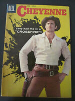 Cheyenne Dell # 6 1958 cowboy western  Comic Book