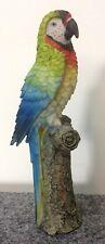 Loro Auf Tronco de Colores 21cm Deco Figura Vacaciones Mares Del Sur Pájaro