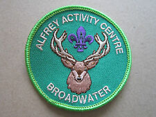 Alfrey Activity Centre Broadwater Cloth Patch Badge Boy Scouts Scouting L3K B
