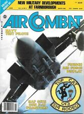 Air Combat March 1985 French Air Force F-4J Phantom Navy Test Pilots Helicopter