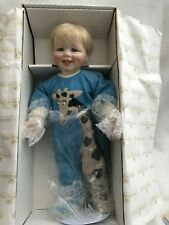 NEW IN BOX CERTIFIED AUTHENTIC COLLECTION OF PORCELAIN DOLLS LOT (10)