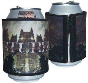 DISTURBED Silent Hill Drinks Beer Cooler Hand Grip Neoprene Rock Official Merch