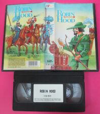 VHS film ROBIN HOOD animazione 1992 A&S C.AS.0519 31 minuti (F159) no dvd