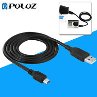 PULUZ 1m 5 pin Mini USB Sync Data Charging Cable Wire For GoPro HERO 4 3+ 3