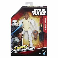 Star Wars B3771 Hero Mashers Admiral Ackbar Action Figure Toy