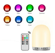 LED Touch Control Night Light Dimmer Intelligent Bedside Portable Lamp Dimmable