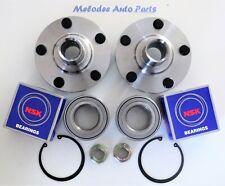 2 Front Wheel Hub W/OEM NSK Japanese Wheel Bearing Set For  LEXUS RX300 / ES300