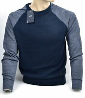 ARMANI JEANS MAN CREW-NECK SWEATER CASUAL FREE TIME WINTER CODE 6Y6MB7