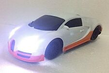 BUGATTI VERYON RADIO RADIO REMOTE CONTROL 1:18 FAST DRIFTING LED HEAD LIGHT CAR