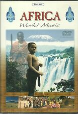 RARE / DVD - AFRICA : MUSIQUE DU MONDE / WORLD MUSIC ( NEUF EMBALLE )