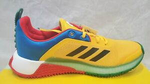 ADIDAS X LEGO® Sport J Kids Running Shoe FY8439. Youth Size 7