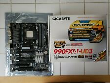 Gigabyte GA-990FXA-UD3 AMD Motherboard With AMD FX-6300 CPU