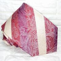 Paisley , Cravatta, Nuova, Made in Italy, 100% seta, qualità superiore ! MORGANA