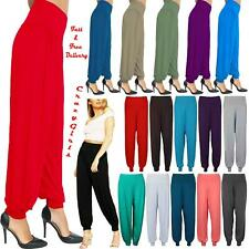Womens Harem Trousers Ali Baba Baggy Long Pants Hareem Leggings Plus Size 8-26