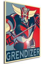 Poster Propaganda - ROBOT - UFO Robo Grendizer - Goldrake