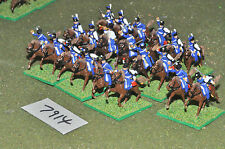 20mm napoleonic french hussars 20 cavalry plastic (7914) painted