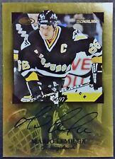 1996-97 Canadian Ice MARIO LEMIEUX Scrapbook AUTO Card Signature missing Serial#