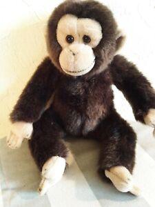 """Ganz Webkinz Signature Chimpanzee Plush Monkey 10"""" Stuffed Animal Toy"""