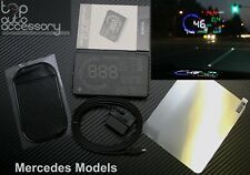"""HUD Head Up Display 5.5"""" OBD II 2 Speed RPM Warning System for all Mercedes Benz"""