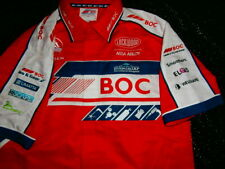 Holden Racing Team TEAM BOC HRT HSV V8 Supercars Pit CREW Shirt Mens M RARE