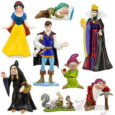 8 x Snow White Evil Queen Collection Cake Toppers Figures Set #3