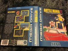 Battle Mania 2 SEGA Mega Drive PAL Version - Custom Game - Grade AAA+++