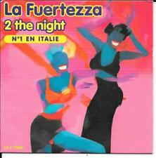 CD SINGLE 2 TITRES--LA FUERTEZZA--2 THE NIGHT / HOUSE LATINA--1997