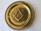Copper Wall Plaque Fauzi Naas Tripoli hammered copper Freemason Masonic Plate