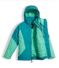 The North Face Girls' Kira Triclimate Jacket - Algiers Blue M (10-12 Big Kids)