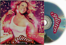 MARIAH CAREY CD Glitter 12 Track UK PROMO Album in Card Slip-in Sleeve MINT