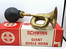Vintage Schwinn Bicycle Giant BUGLE HORN Part# 05 006 - Parts / Repair
