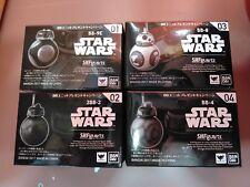 Star Wars Premium S.H. FIGUARTS droid set BB-8 BB-9E 2BB-2 BB-4 Full set
