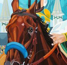 American_Pharoah_Horse of  the Year_ Art_Horse_Jockey_Print_Signed_SFASTUDIO
