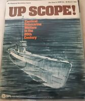 UP SCOPE! Tactical Submarine Warfare in the 20th Century Simulation Board Game