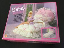 1987 Living Pretty Barbie & Ken Mobilier Elegance Glamour – Bed Set# NIB