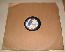 "16"" VINYL RADIO TRANSCRIPTION RECORD US AIR FORCE RECRUITING COUNTRY MUSIC TIME"
