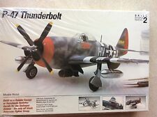 TESTORS 1/48 SCALE #520 P-47 THUNDERBOLT MODEL KIT