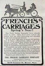 1904 AD (F20)~THE FRENCH CARRIAGE CO. BOSTON, MASS.