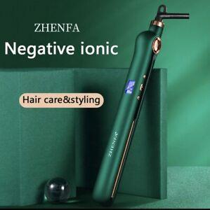 Hair Straighteners Professional Irons Digital LCD Display Salons 25 Temperatures