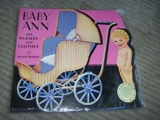 Baby Ann and her Nursery Paper doll by Queen Holden