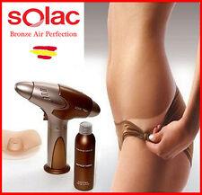 PISTOLA Autobronceadora SOLAC BRONZE AIR PERFECTION + Locion Bronceado