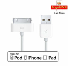 Apple 30pin Dock Connector Charger Lead Charging Cable for iPhone iPad iPod 1m