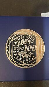 France - 100 Euros 2011 Hercule Argent 900/1000 - Monnaie de Paris NEUF