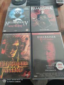 Dvd Hellraiser Sammlung 4 Filme too Zustand
